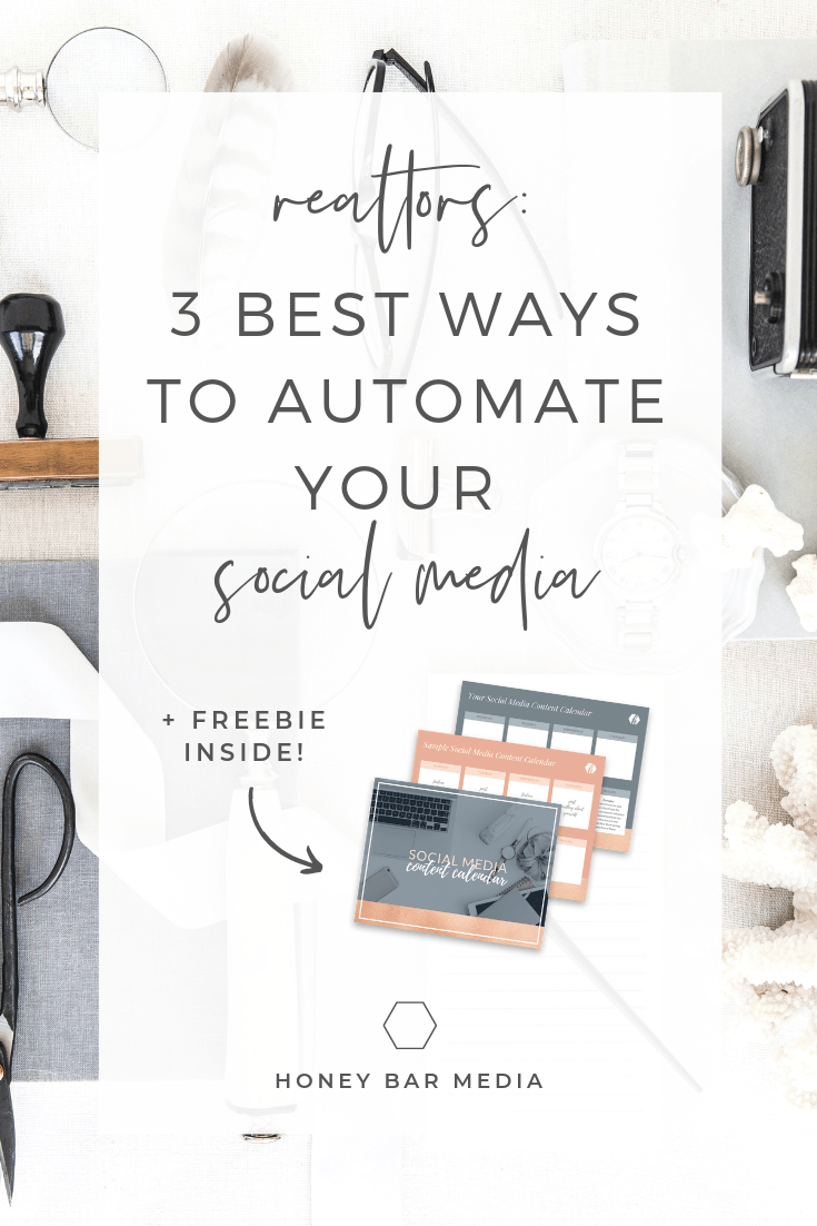 How do you automate your social media? The key here is to automate your processes, without automating your relationships. Repin, and then find out my top 3 steps for automating social media for real estate agents!